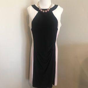 Beautiful Lauren Color Block Dress